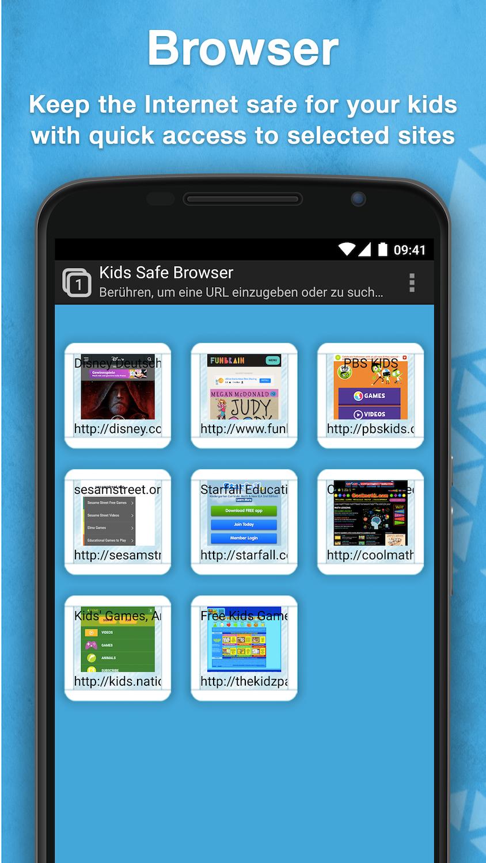 Safe Browser for kids Parental Control App